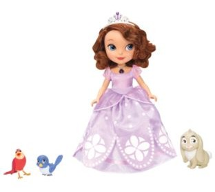Review: Disney Talking Sofia The First Doll and Animal Friends.