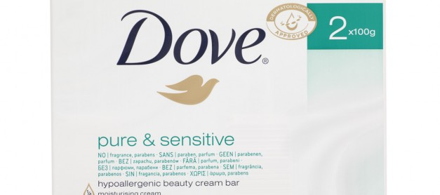 Dove Pure and Sensitive Beauty Cream Bar Review