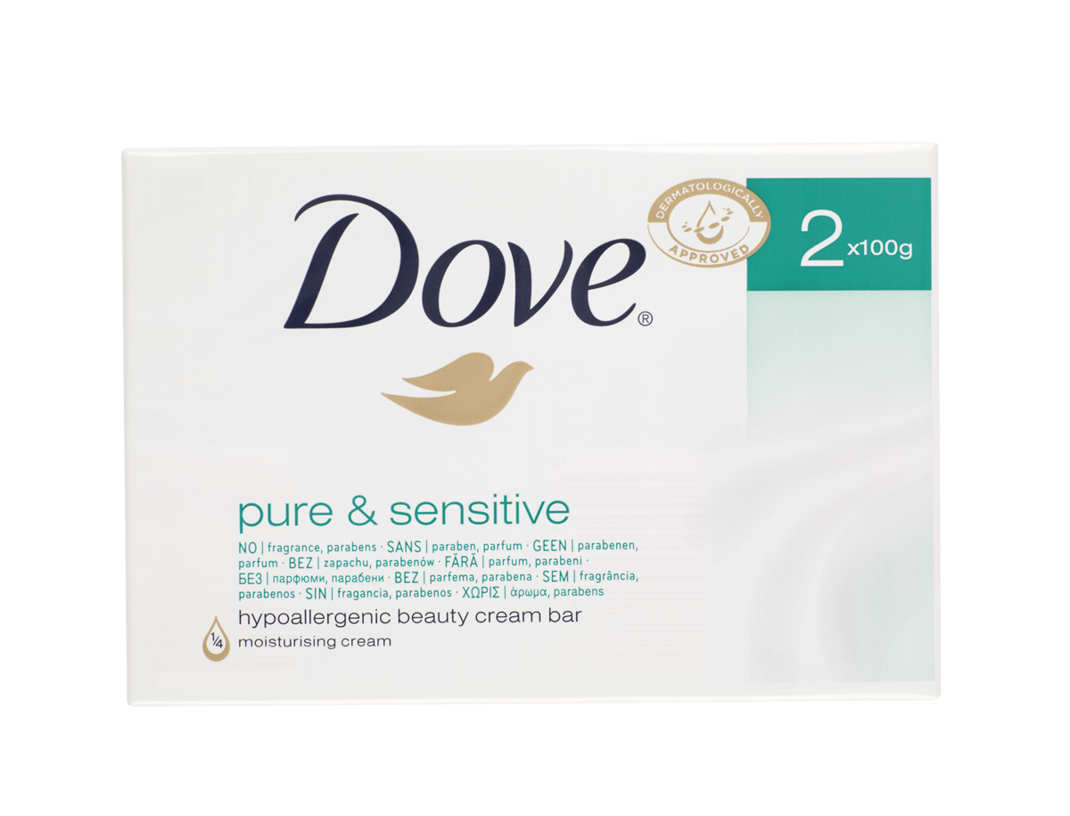 Dove Pure and Sensitive Beauty Cream Bar Review - Mum's the Word