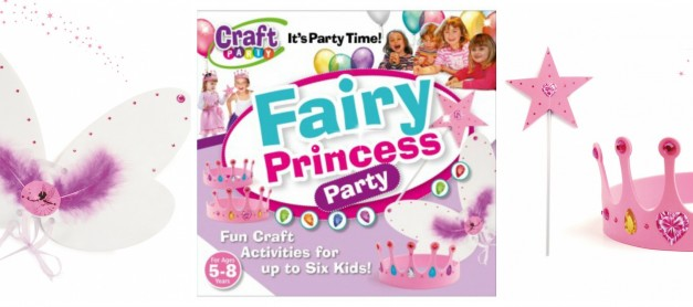 Interplay Fairy Princess Craft Party Review