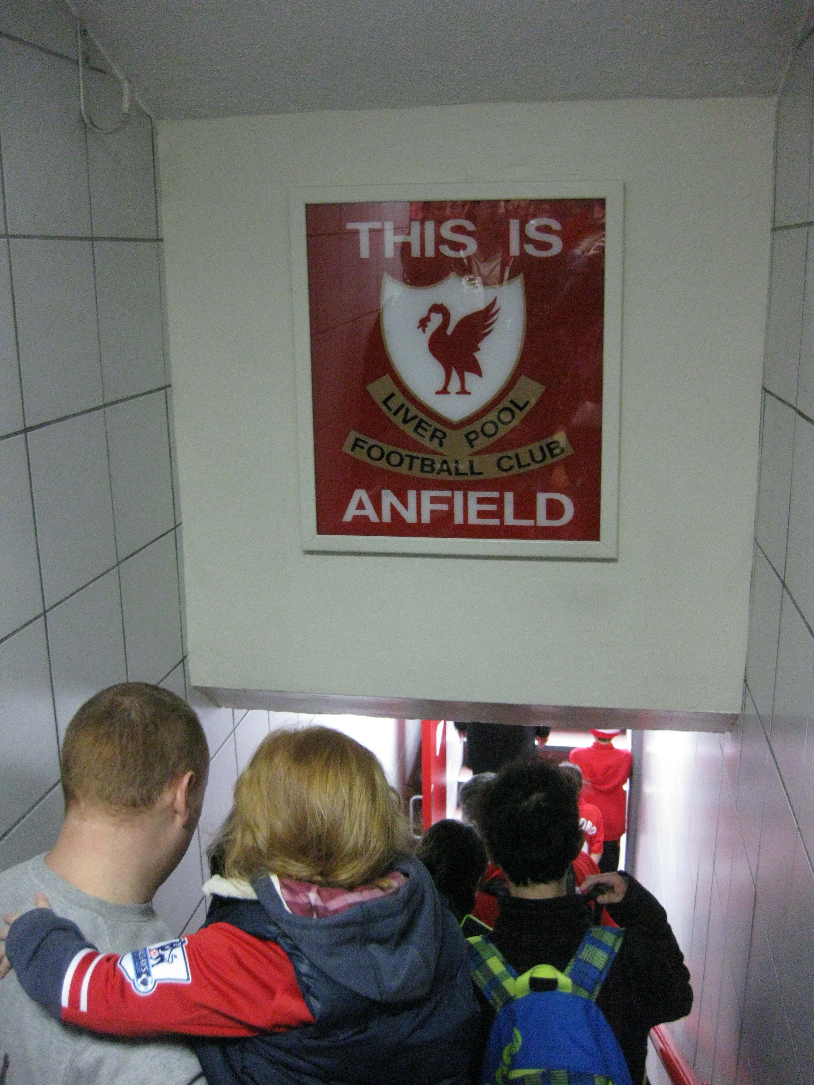 THIS IS ANFIELD sign