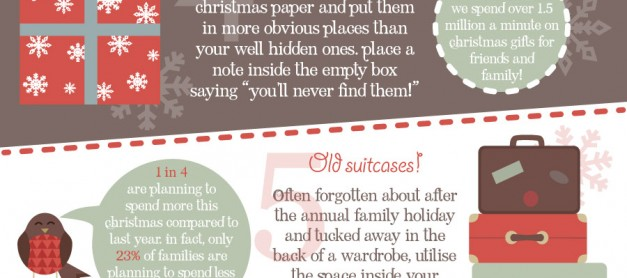 Where to Hide Your Christmas Presents!
