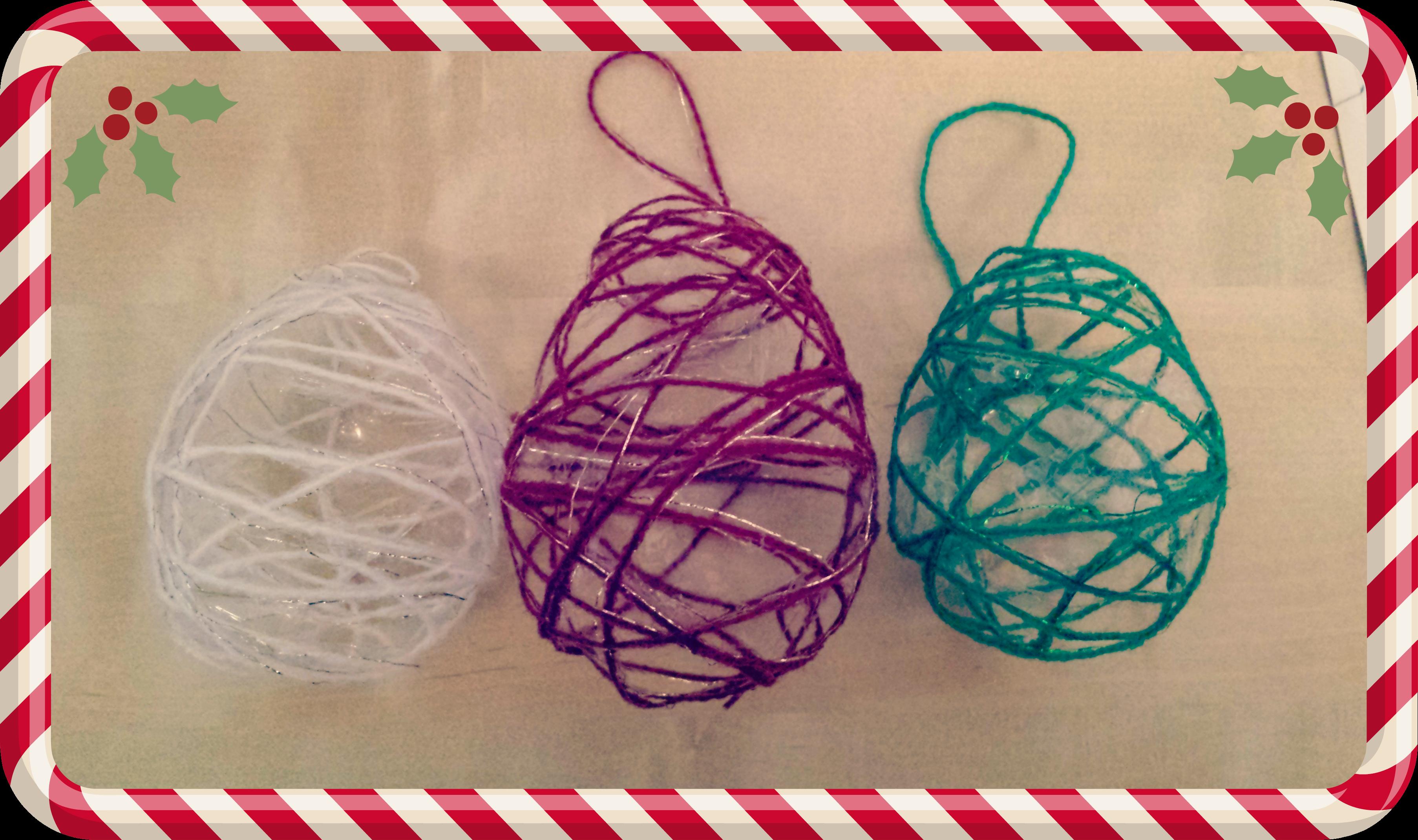 xmas bauble crafts