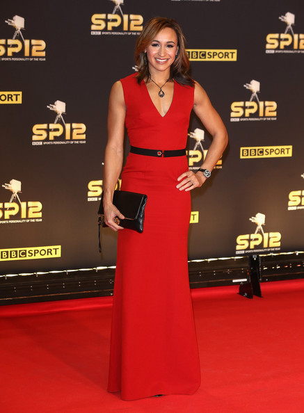 Jessica Ennis Red Dress