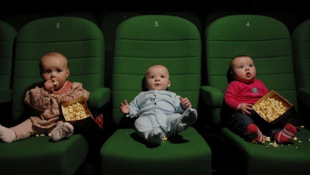 baby in cinema