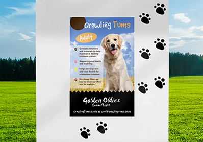 Feeding a Senior – Growling Tums Dog Food review