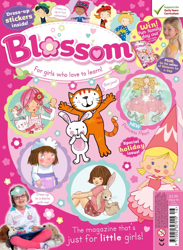 Blossom I Want To Be Edition cover