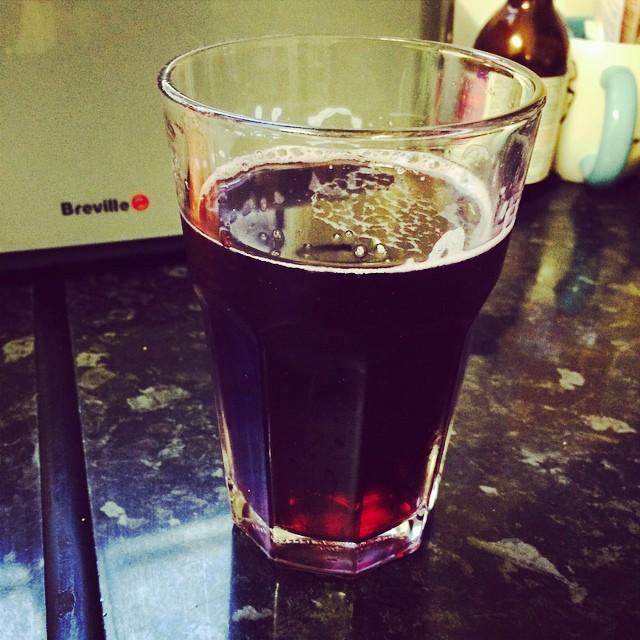 I don't drink very often but when I do, I do it right. #giantportandlemon #drinklikeyournan