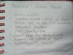 Sausage's Dream House