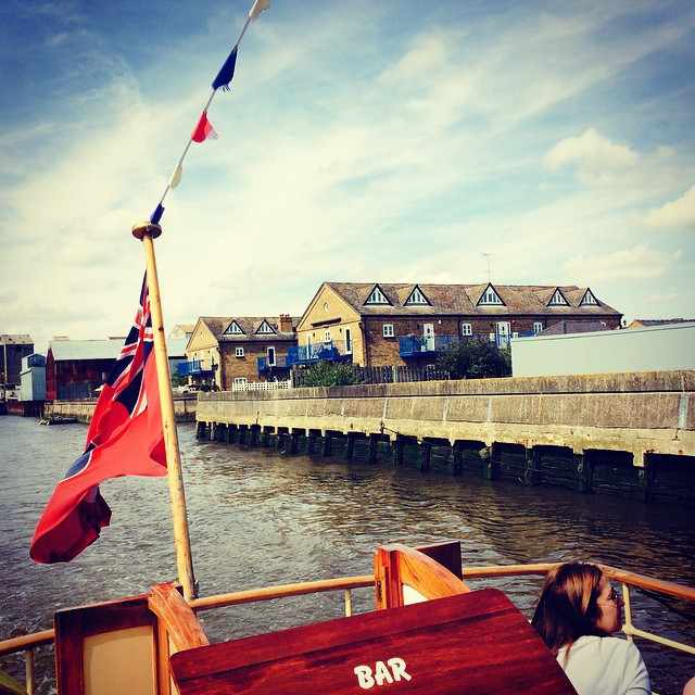 Apparently Delia Smith and Jamie Oliver own houses along here. #latergram #Maldon #Essex