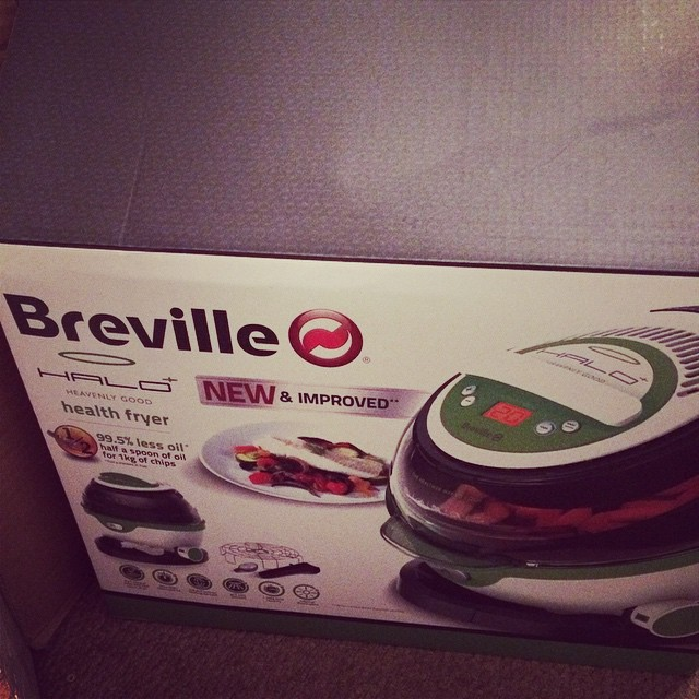 Cannot WAIT to try this out! Chips for tea, anyone? @brevilleUK @britmums