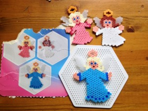 Christmas Hama Bead Angels