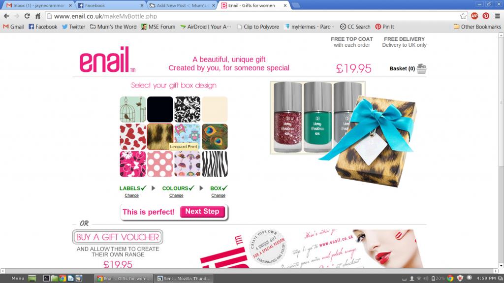 enail online nail polish gifts
