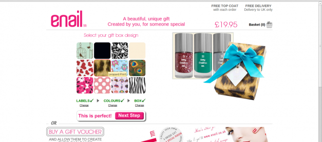 eNail Mail Order Nail Polish – Review and Giveaway