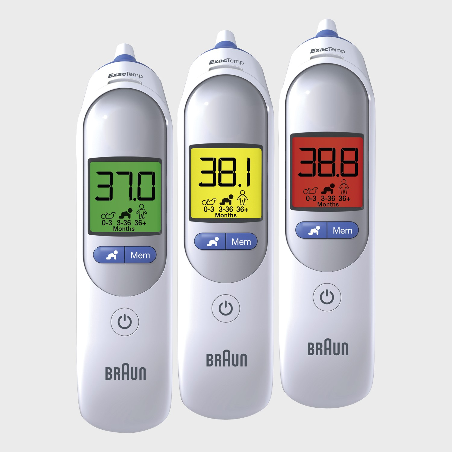 Braun PRO4000 Thermoscan Tympanic Thermometer
