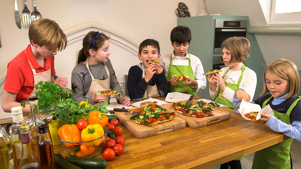 Healthy Cooking with Kids - Mum's the Word