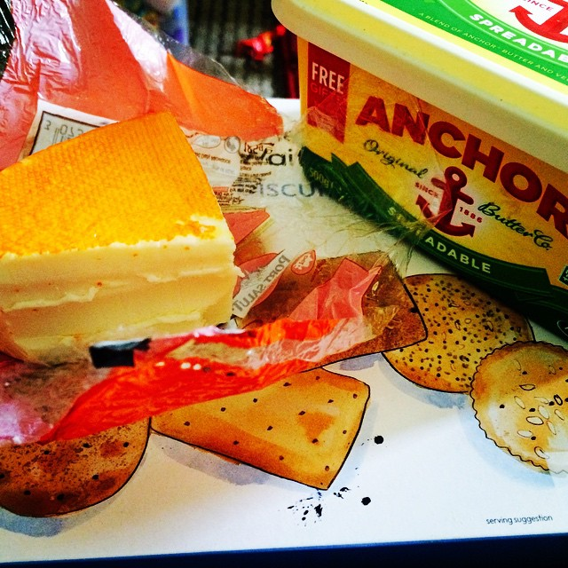 Obviously, last nights #cheesebinge wasn't enough...
