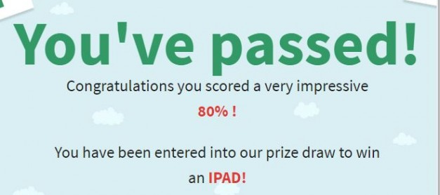Take Your Theory Test and Win an iPad!