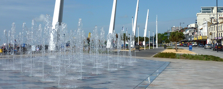 Southend Seafront Fountains