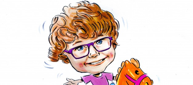 Win a Framed Caricature of Your Child and their BFF with VTech and Mum's the Word!