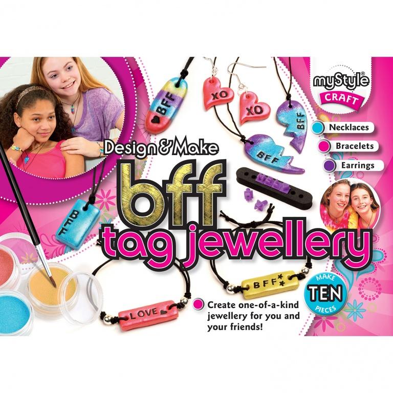 BFF Tag Jewellery