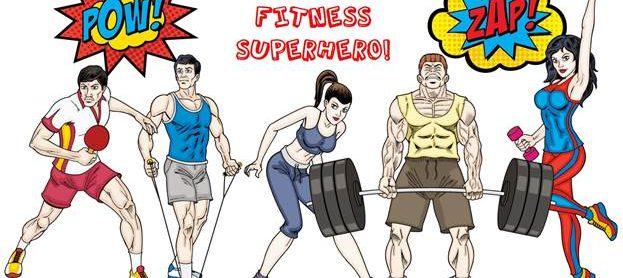 Be a Fitness Superhero
