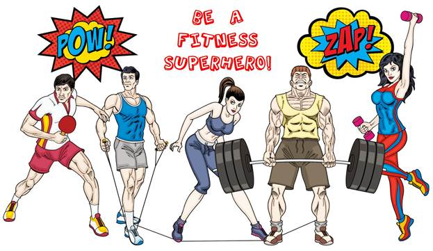 Fitness Superhero