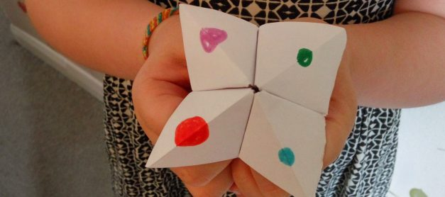 How to Make a Paper Fortune Teller (video)