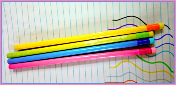 smiggle colour change pencils