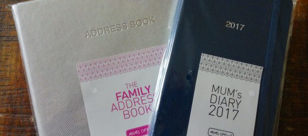 MUM's Office Diary Review and Address Book Giveaway