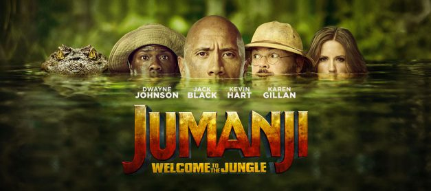 Win a Copy of Jumanji on DVD