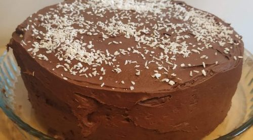 Vegan Coconut and Chocolate Cake Recipe