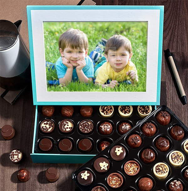 Mother's Day personalised chocolates