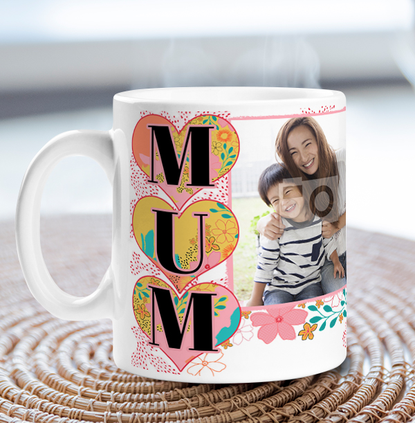 Personalised gifts for Mother's Day