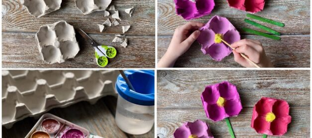 The Best Flower Crafts for Kids